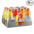게토레이 스포츠 음료/이온 음료 20oz (12팩)