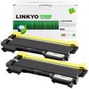 LINKYO 브라더 TN450 TN420 호환 토너/ 리필 Value Edition (2개 팩)