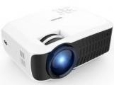 DBPOWER T22 2400 Lumens 1080P 프로젝터 - HDMI, USB, SD Card, ...