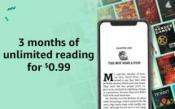 (마지막날) 아마존 킨들 언리미티드 (Kindle Unlimited) 3달 멤버...