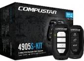 CompuStar CS4905S-KIT 2웨이 원격시동 시스템 (설치 포함)