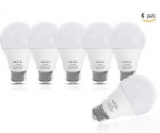 Mulcolor LED 전구 60W 밝기 6개 팩