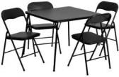Flash Furniture 5피스 접이식 테이블 의자 세트