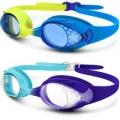 어린이 물안경, OutdoorMaster (2개 팩)