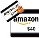 (프라임데이 딜)  아마존 $40 기프트카드 구매시 $10 크레딧 공짜