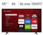 (코스트코 멤버) TCL 55S403 55인치 4K UHD Roku 스마트 LED TV