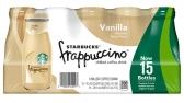 스타벅스 프라푸치노 바닐라향 병 커피 (15개 팩)