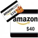 아마존 $40 기프트카드 구매시 $10 크레딧 공짜 (프라임 멤버 딜)