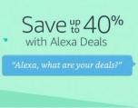 아마존 알렉사 (Alexa) 사용 주문시 40%까지 세일
