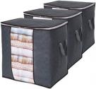 이불 / 옷 수납 정리함 가방 (3팩)
