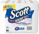 스캇 (Scott) 1000 화장지 (27개팩 x 3, 총 81개)