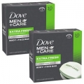 도브 (Dove) 남성 Men+Care 4 oz 비누 (20개 팩)