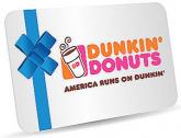 던킨도너츠 $30 기프트카드 구매시, $10 추가 증정